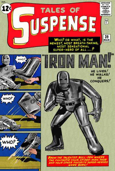 Tales of Suspense 39 cover