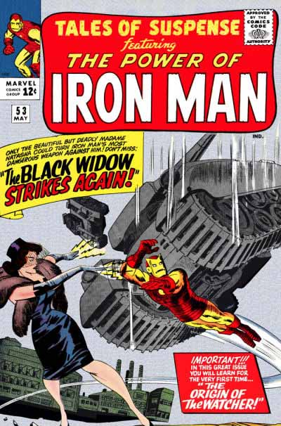 Tales of Suspense 53 cover