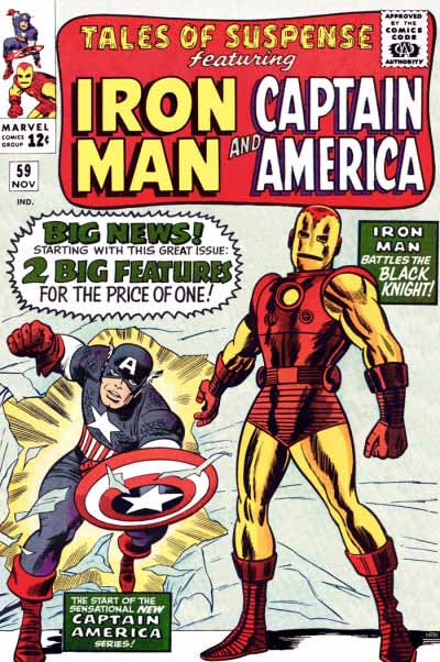 Tales of Suspense 59 cover