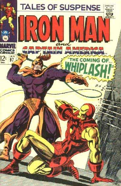 Tales of Suspense 97 cover