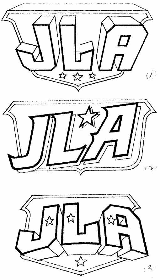 JLA logos Alex Jay