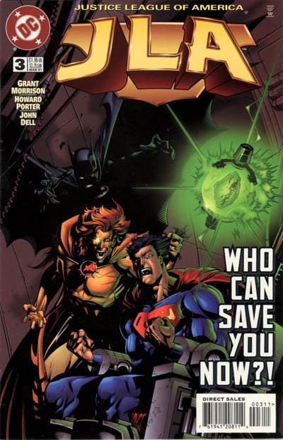JLA 3 cover