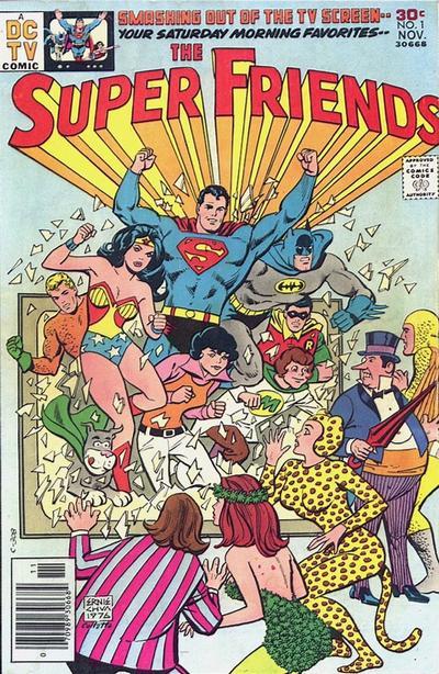 Super Friends 1 cover