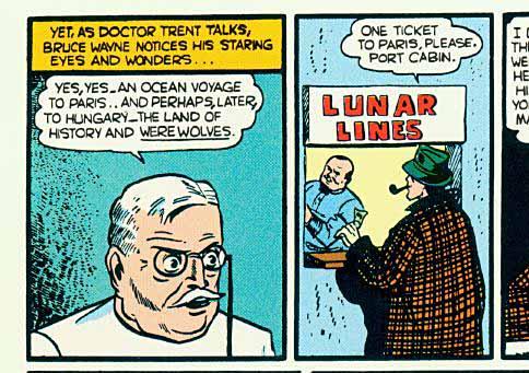 Panels from Detective Comics #31.