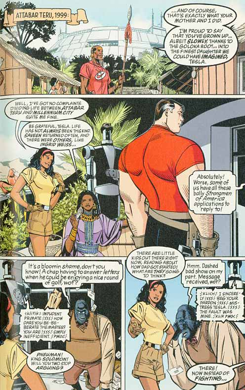 Tom Strong page