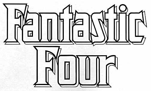 Fantastic Four Logo Vector Fantastic Four Logo Font The