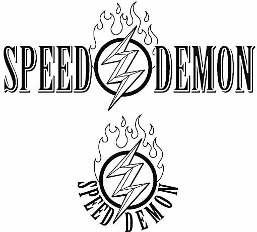 SpeedDemon logo 1