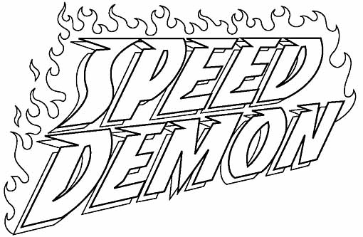 SpeedDemon logo 2