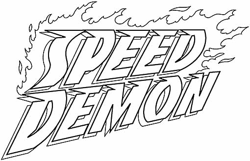 SpeedDemon logo 3