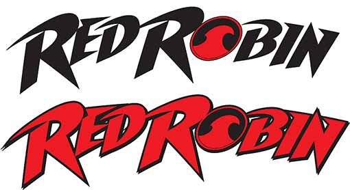 Process Of Red Robin Design Logo Design Process