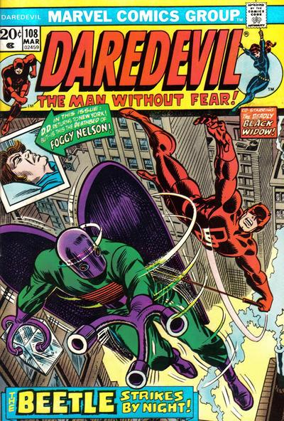 Daredevil 108 cover