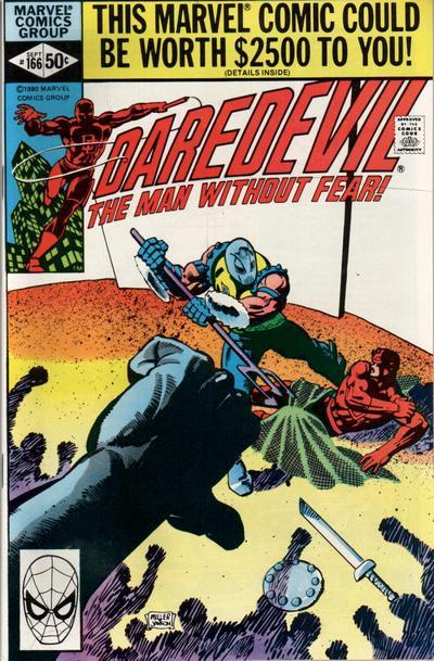 Daredevil 166 cover