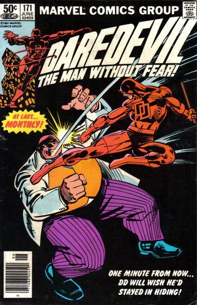 Daredevil 171 cover