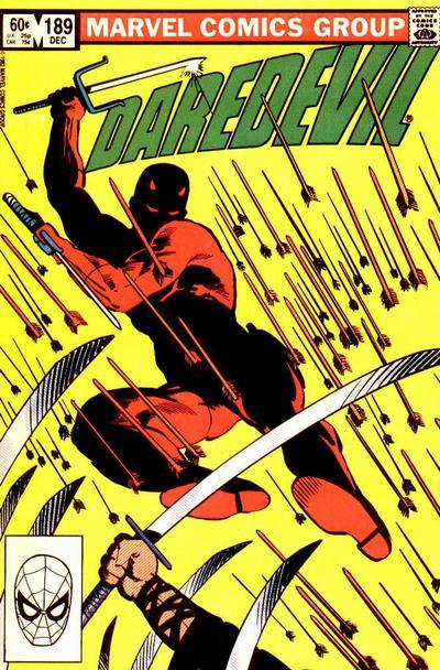 Daredevil 189 cover