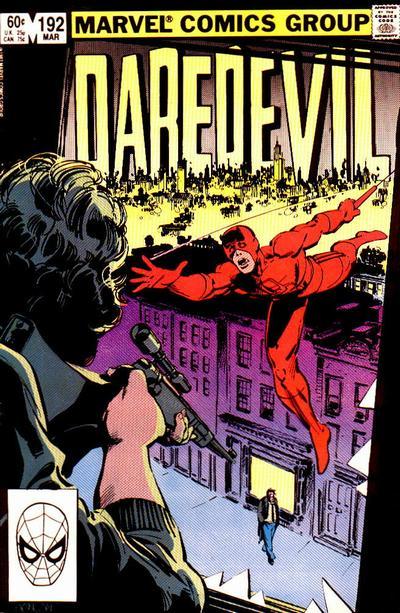 Daredevil 192 cover