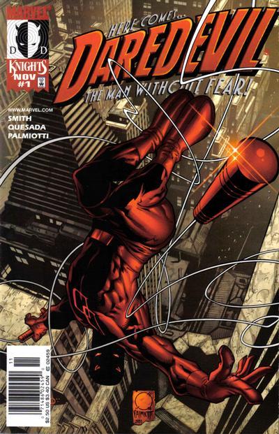 Daredevil 1 cover