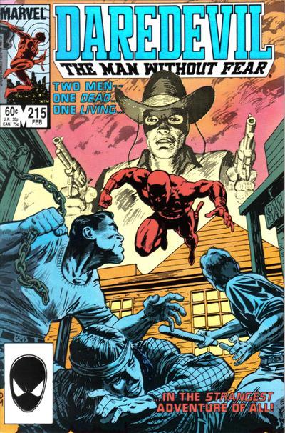 Daredevil 215 cover