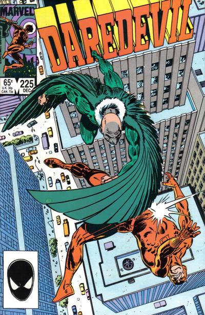 Daredevil 225 cover
