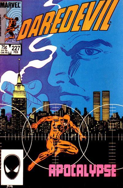 Daredevil 227 cover