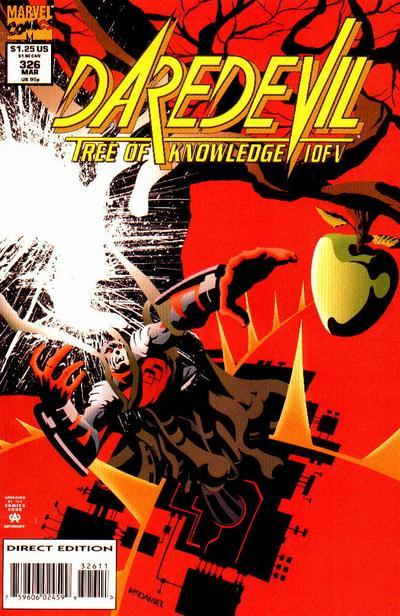 Daredevil 326 cover