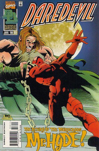 Daredevil 353 cover