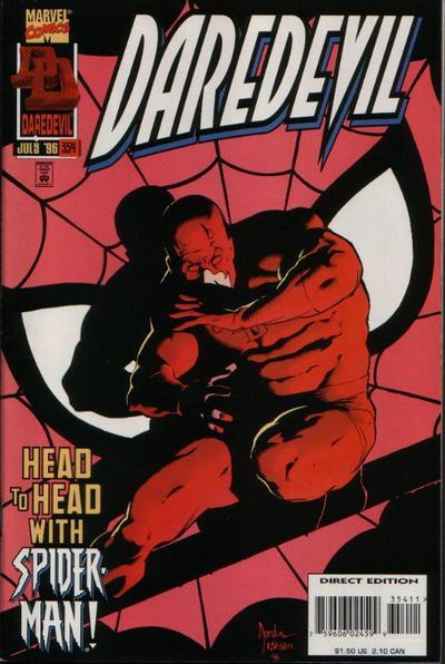 Daredevil 354 cover