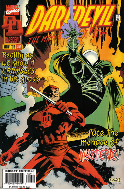 Daredevil 358 cover