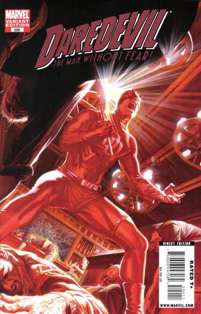 Daredevil 500 cover
