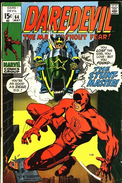 Daredevil 64 cover