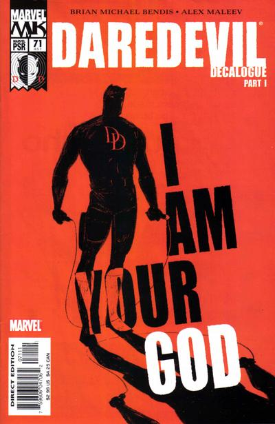 Daredevil 71 cover