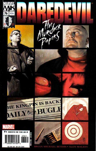 Daredevil 76 cover
