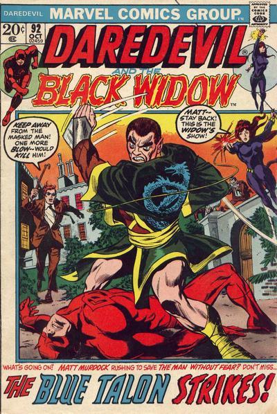 Daredevil 92 cover