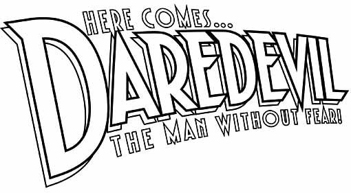 Daredevil logo sketch Roshell