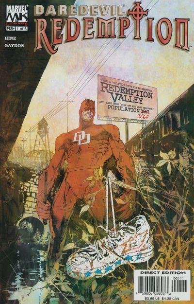 Daredevil Redemption 1 cover