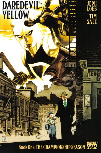 Daredevil Yellow 1 cover