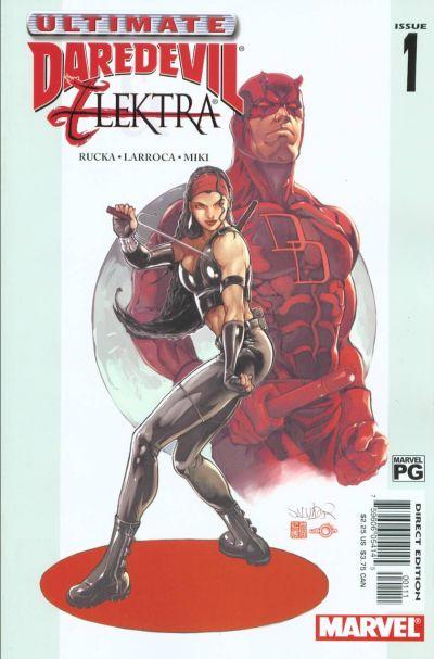 Ultimate Daredevil Elektra 1 cover