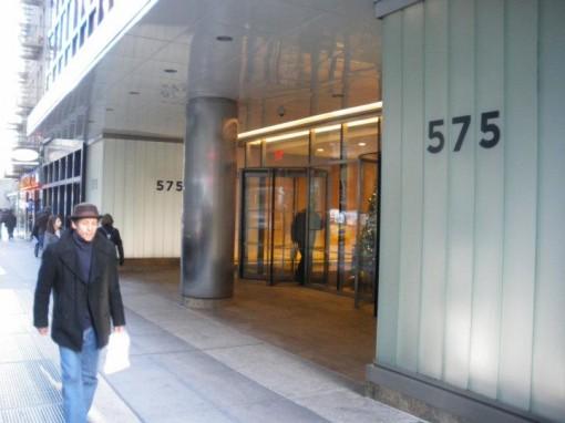 575 Lexington entrance today.