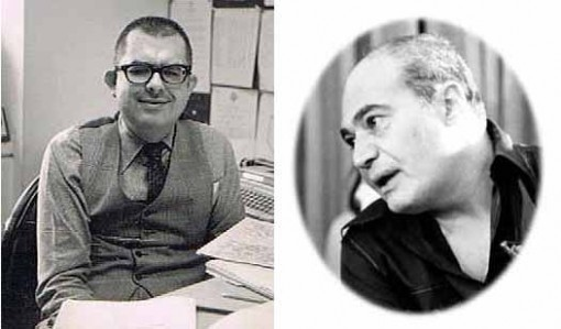 E. Nelson Bridwell and Carmine Infantino by Jack Adler.