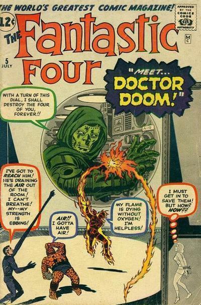 Fantastic Four #5, Marvel Comics
