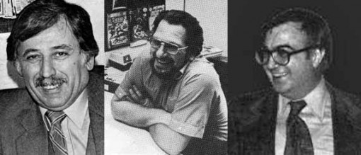 Dick Giordano, Joe Kubert and Joe Orlando by Jack Adler.