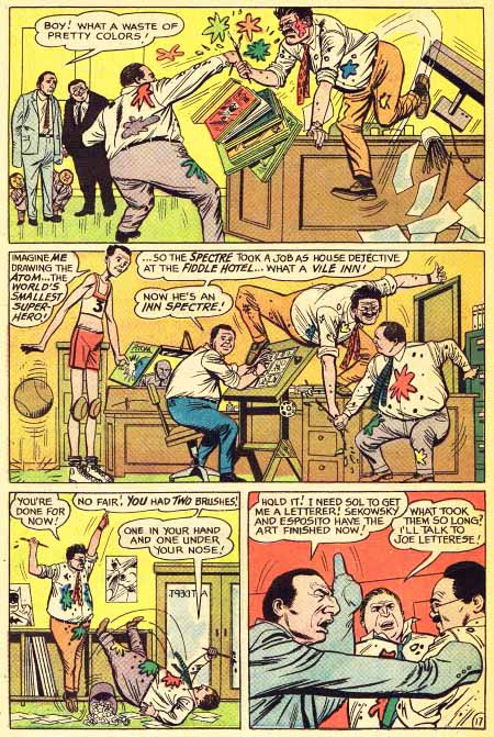 Page 17 from The Inferior Five #6, DC Comics.