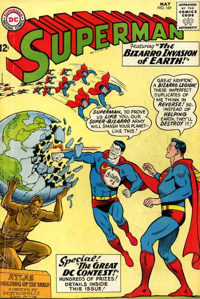 Superman #169, DC Comics.