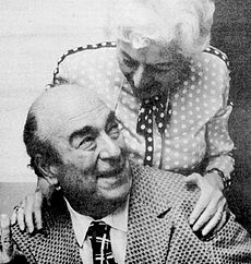 Mort Weisinger and Gerta Gattell by Jack Adler.
