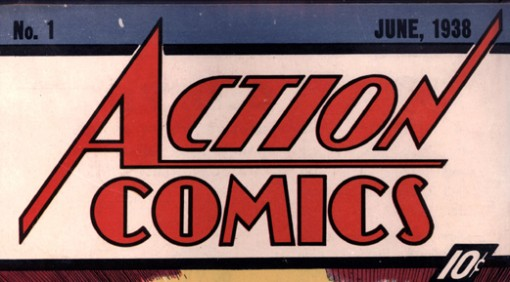 Action Comics 1 logo