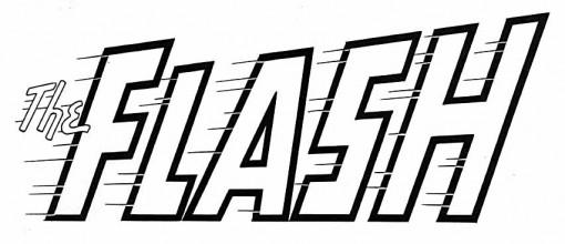 The Flash logo by Ira Schnapp