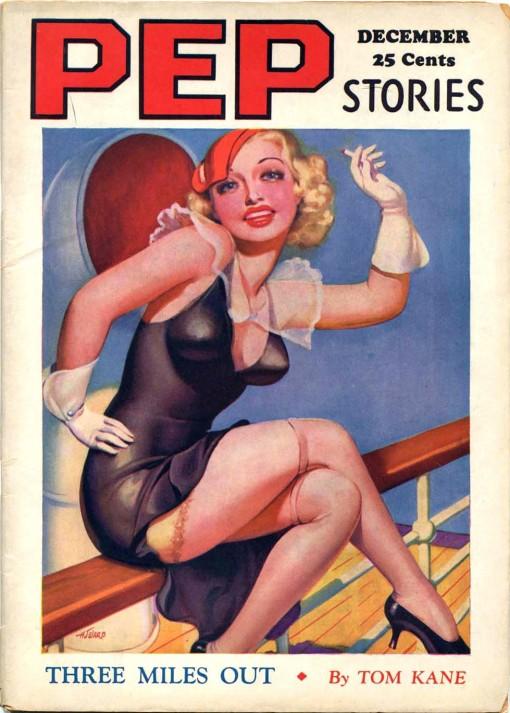 Pep Stories December 1934.