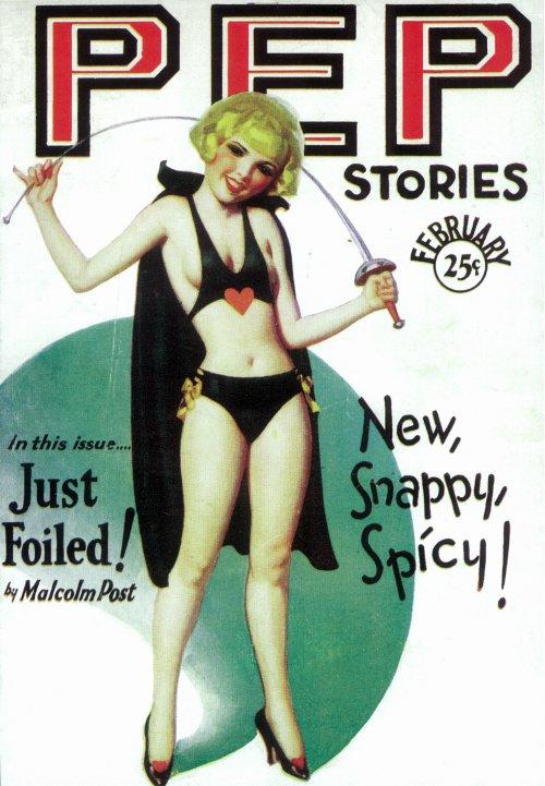 Pep Stories Feb. 1930.