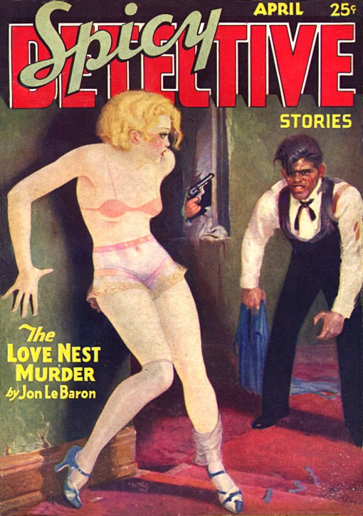 Spicy Detective Stories April 1934.
