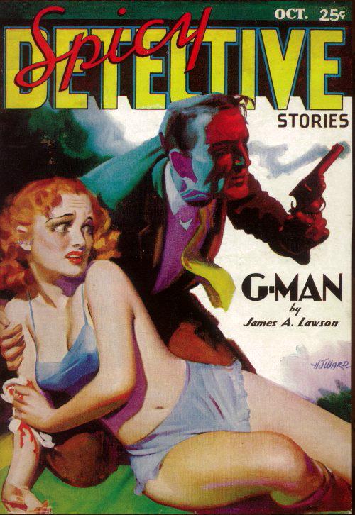 Spicy Detective Stories.