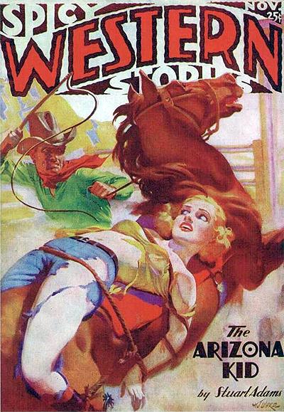 Spicy Western Stories.